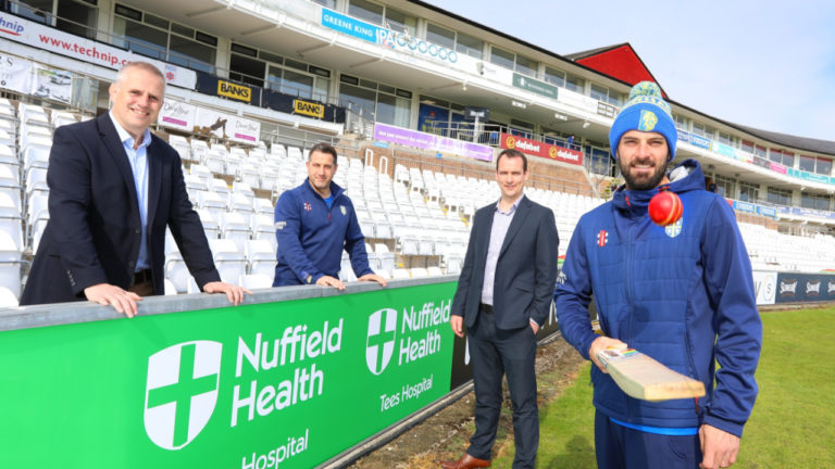 Durham Cricket is delighted to announce that Nuffield Health Tees Hospital in Stockton have become the Club's official healthcare partner
