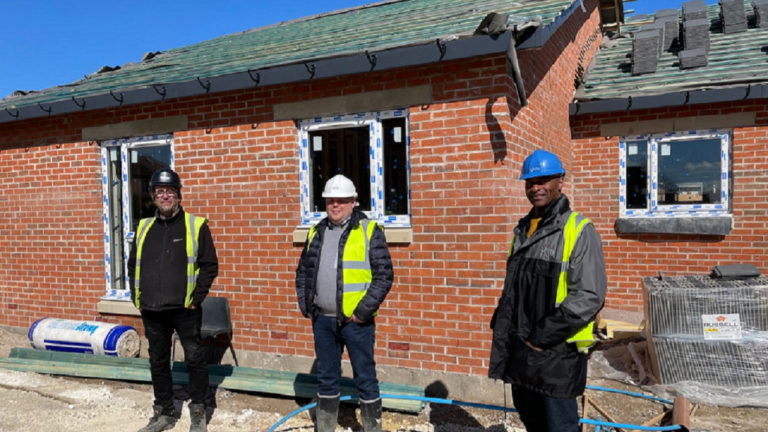 £2.4 million affordable housing development close to completion