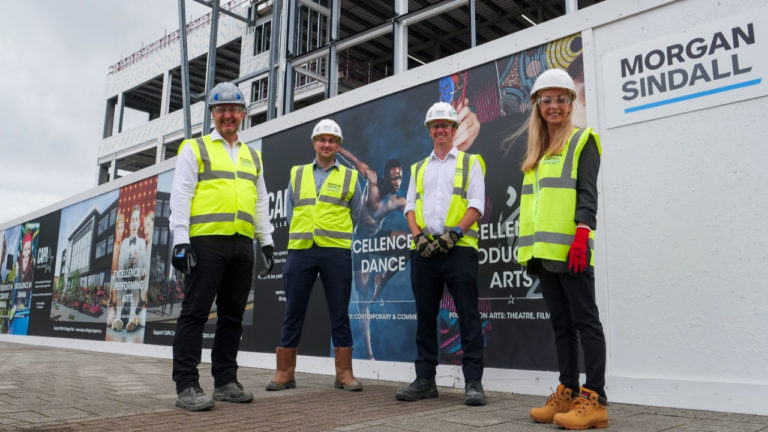 Morgan Sindall Construction gets the show on the road at community-boosting CAPA College