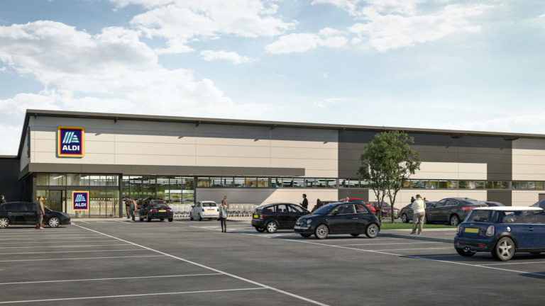 Aldi and Coffee Drive-thru Form Part of Derwent's Additional Vision for Wigan