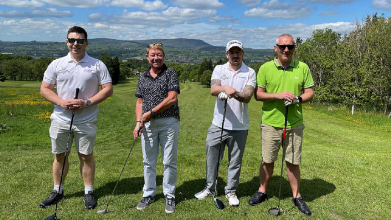 Charity golf day raises vital funds for Pendleside Hospice