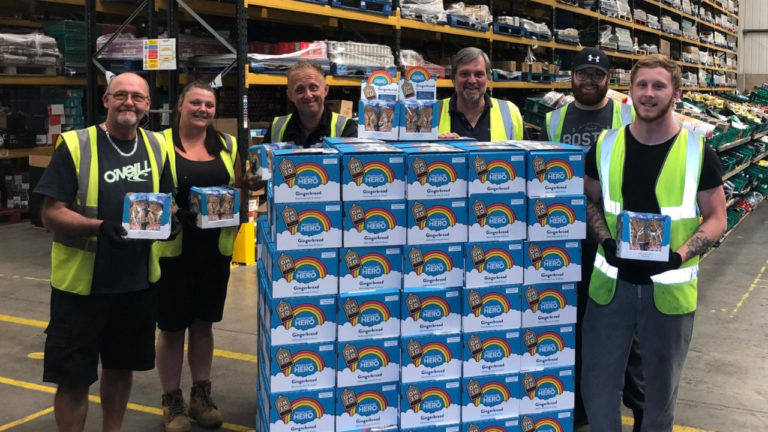 Approved Food aims to raise £10,000 for the NHS