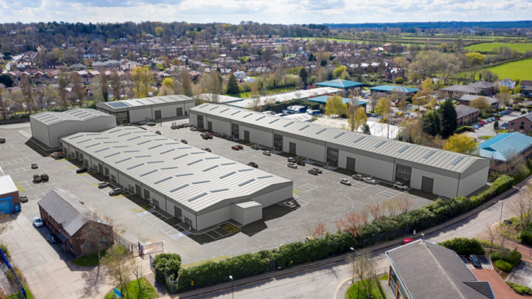 Network Space unveils proposed development at Altrincham