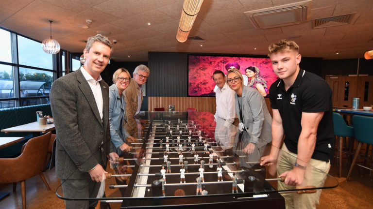 Partners and businesses toast success of Coventry's new sports bar