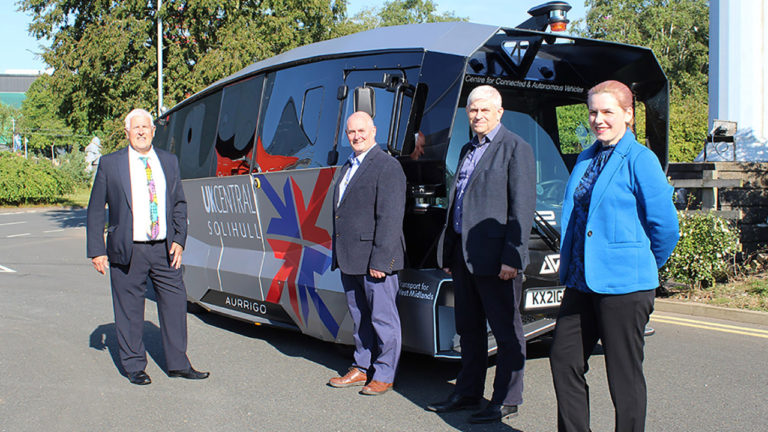 Aurrigo signs first local authority contract for its Auto-Shuttle technology