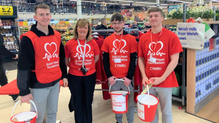Pandemic could not stop college smashing £60,000 barrier for heart foundation