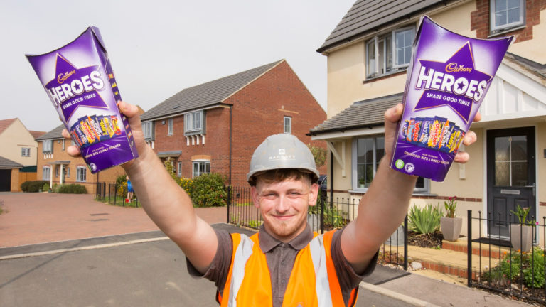 Barratt Homes bricklaying apprentice helps save resident's life