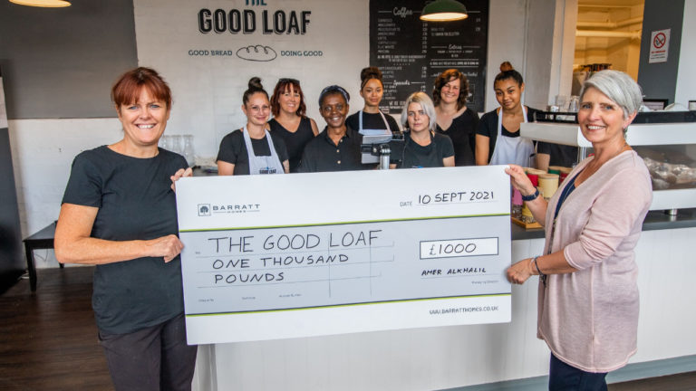 Northamptonshire House Builder Donates to Vulnerable Women Community Project