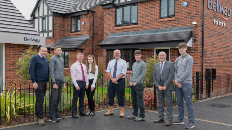 Bellway keeps it close to home to bring the next generation through