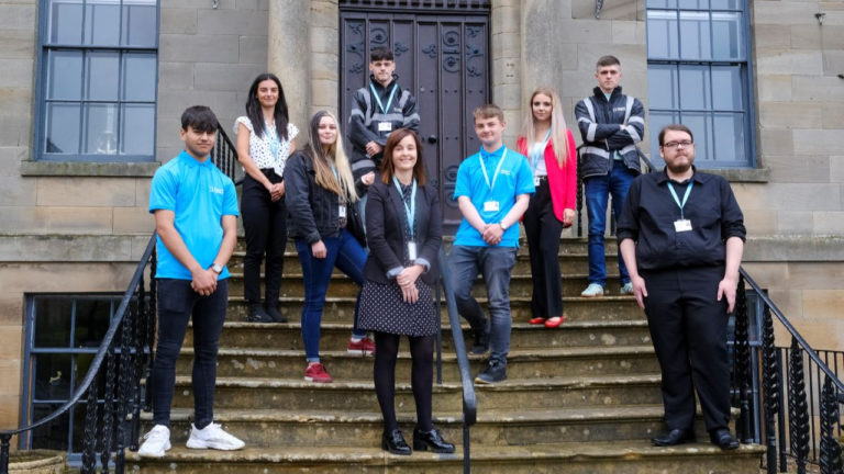 Talented apprentices join beyond housing team