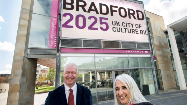Bradford 2025 announces first Founding Partner for City of Culture bid