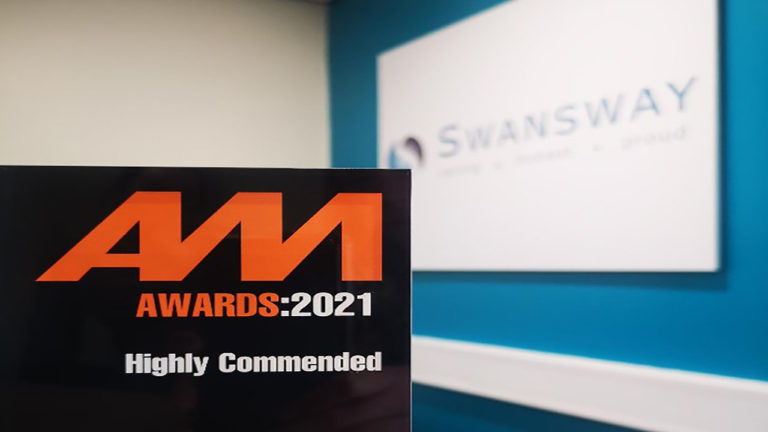 """Swansway Group awarded """"Highly Commended"""" in the Community Hero category at the Automotive Management Awards"""