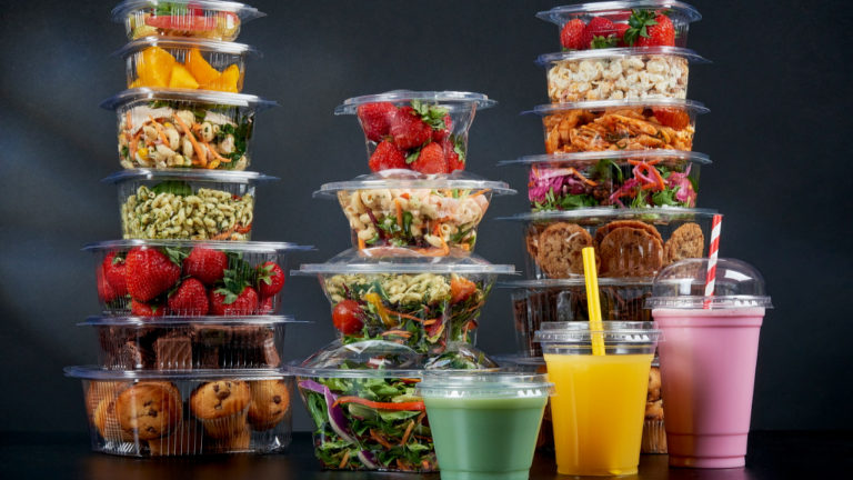 Celebration Packaging launches 100% recyclable rPET foodservice packaging range at lunch
