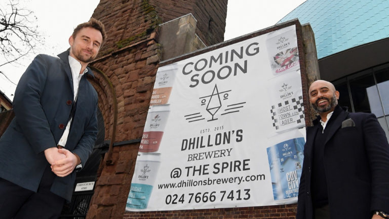 Craft brewery set to open cafe bar in Coventry city centre after agreeing spire deal