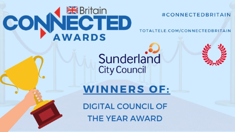 Sunderland wins Digital Council of the Year UK 2021