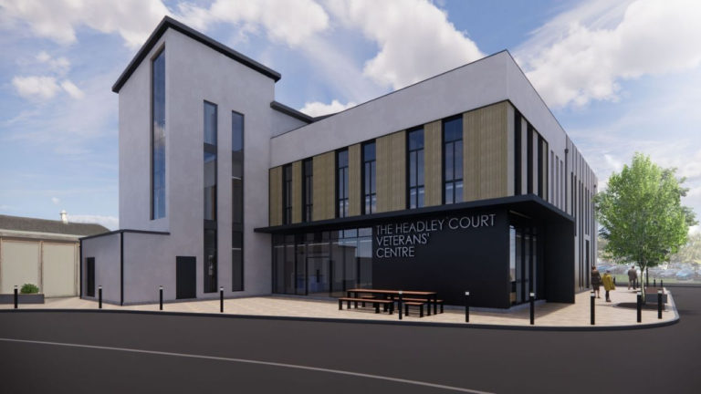 Work underway on pioneering centre for military veterans
