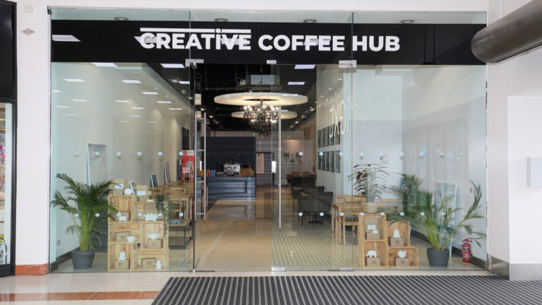 Merry Hill opens new local arts and crafts coffee house