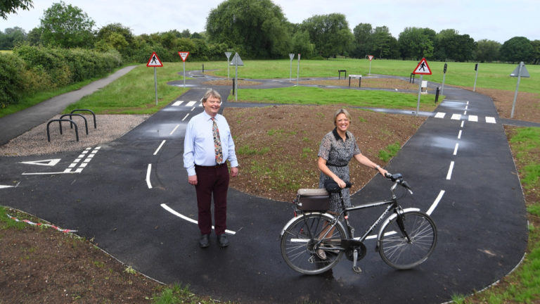 New Stratford cycle training area part of wider project to boost town's economy