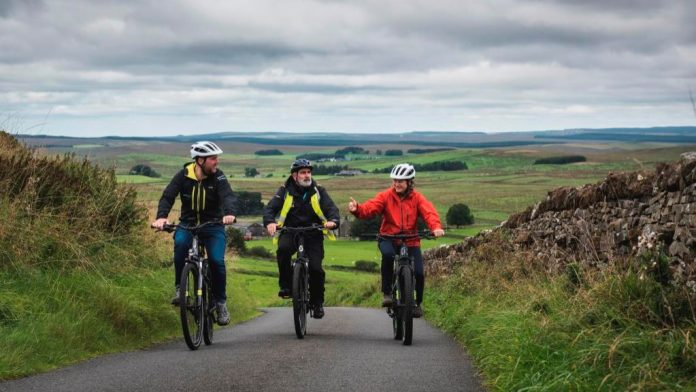 Northumberland features in a new collection of interactive visitor experiences showcasing England's National Parks