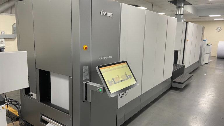 Elanders UK is the first to bring new, eco friendly printer investment to the UK