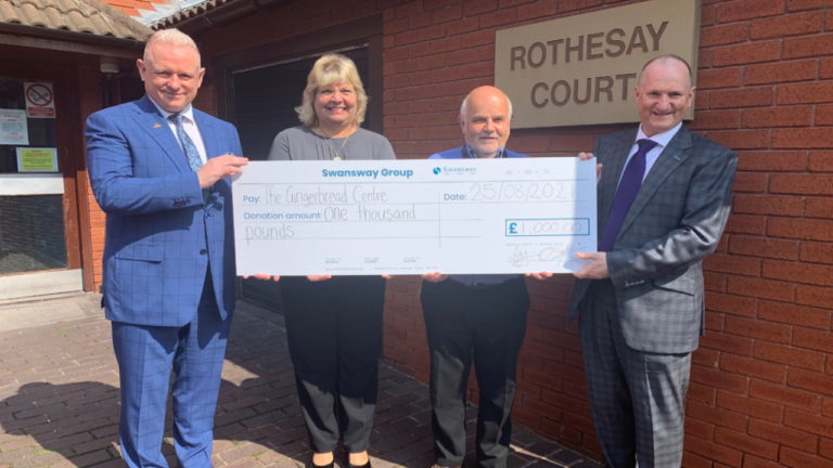 Swansway Group sponsors local charity's search for entrepreneurs to raise funds for homeless families