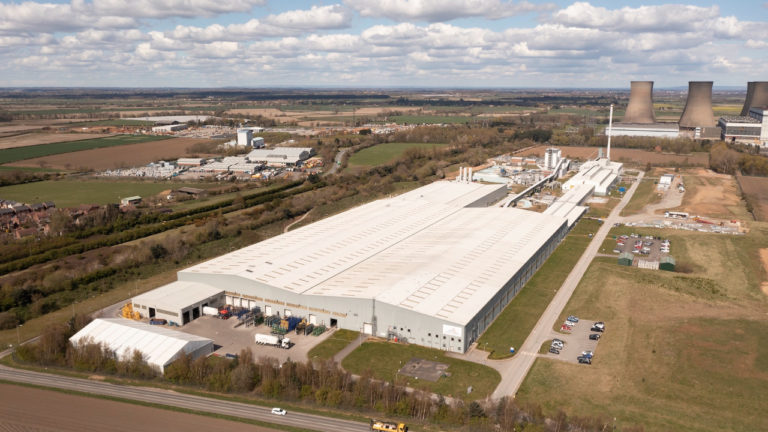 £30m investment at Eggborough factory secures long-term glass supply in the UK