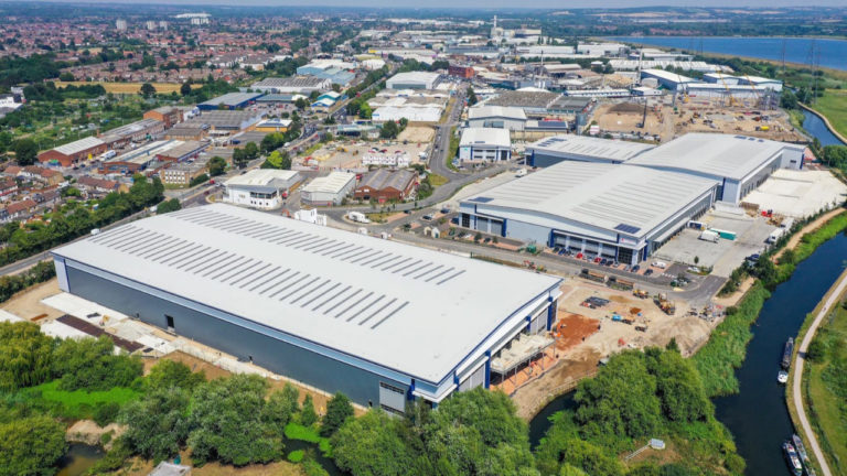 Graftongate and ASI toast success of Enfield Distribution Park