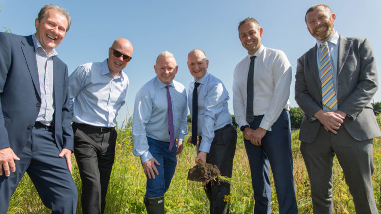 Swansway Group breaks ground for a new Oldham VW site