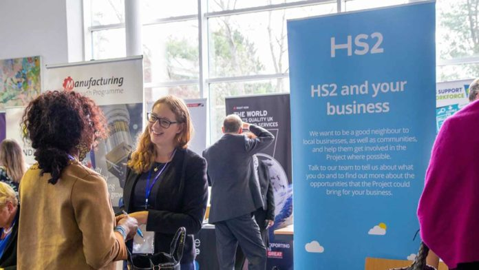 Companies near the HS2 route invited to hear about business opportunities
