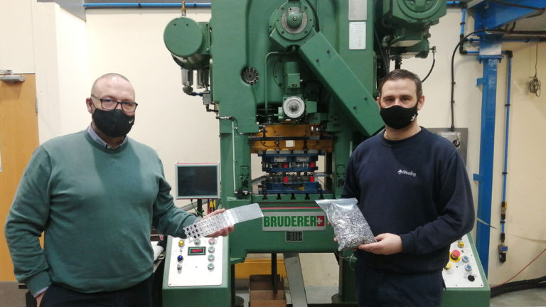 High-speed Bruderer press investment delivers major reshoring contract for HV Wooding