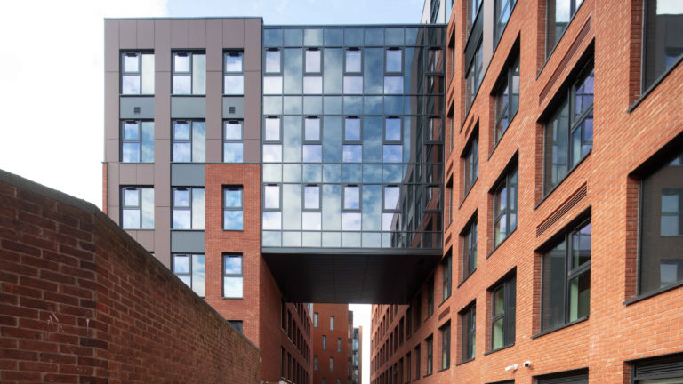 Caddick Construction completes Lincoln student accommodation development