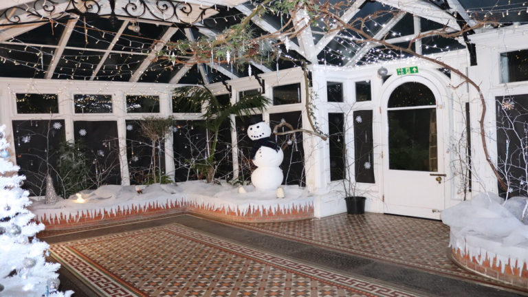 A guaranteed white Christmas for Birchwood Care Home this year!