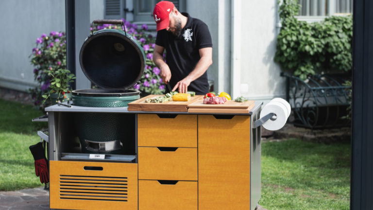 BBQ island maker KamadoSpace expands as lockdown fuels home cooking boom