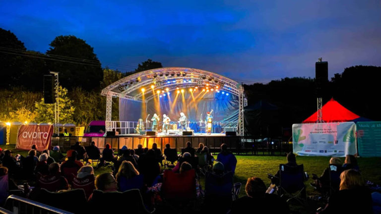 AYRE Event Solutions brings 'Burrs Live' Festival to Life