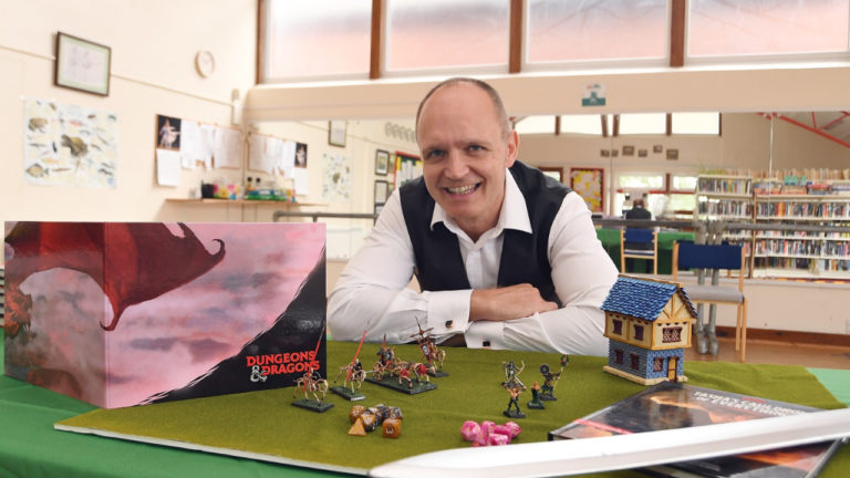 Warwickshire gamesmaster grows his business after receiving support