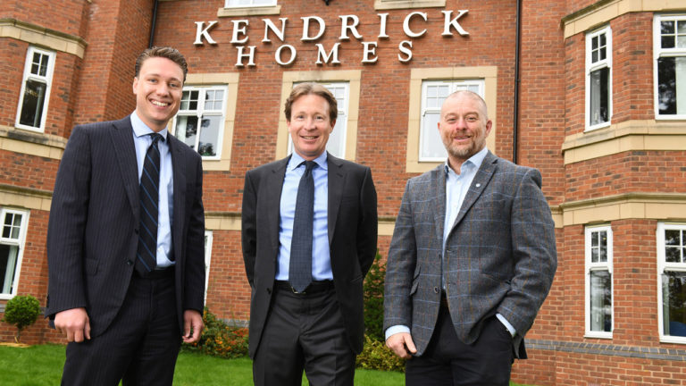 Kendrick Homes delivers £28,750 charity boost to eight organisations
