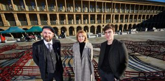 Grand Central sponsorship of The Piece Hall Trust supports a sculpture culture in Halifax