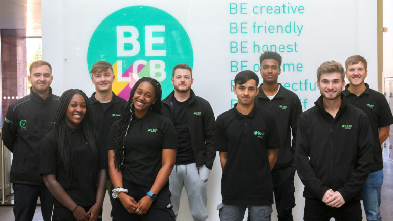 UK's Leading Construction College Welcomes First Degree Apprentices