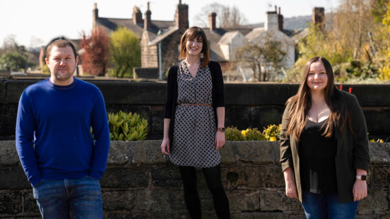 Creative agency Fluid Ideas promotes trio to new role of associate partner