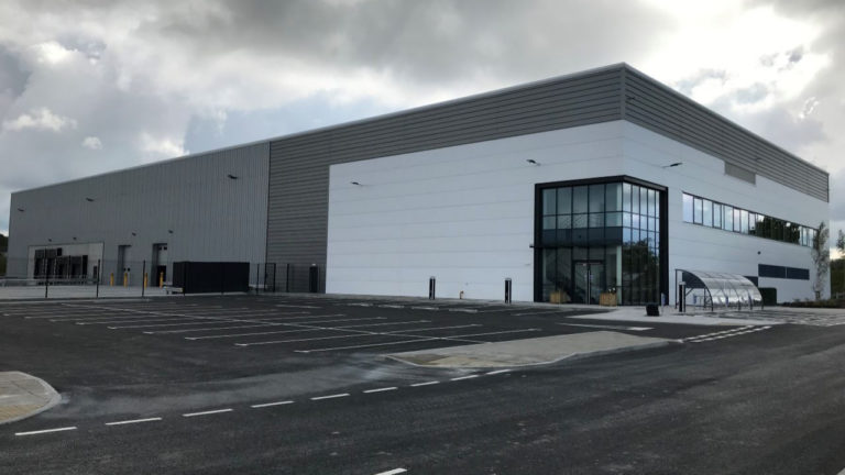 Caddick Construction win £2m fit out contract at Logistics North site