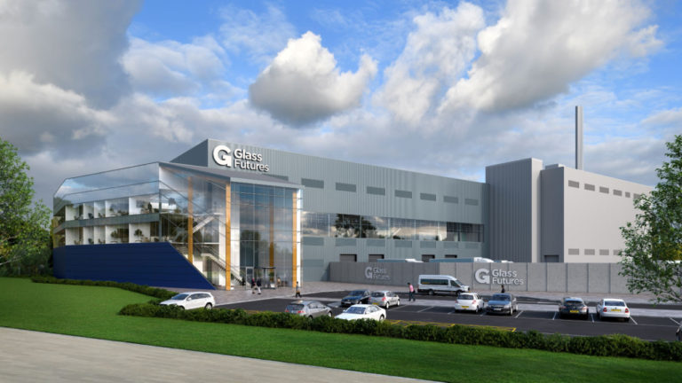 £15m funding welcomed for Glass Futures' Centre of Excellence in St Helens