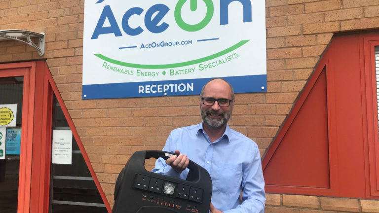 AceOn's mobile solar power station to lead the world in sodium-ion technology