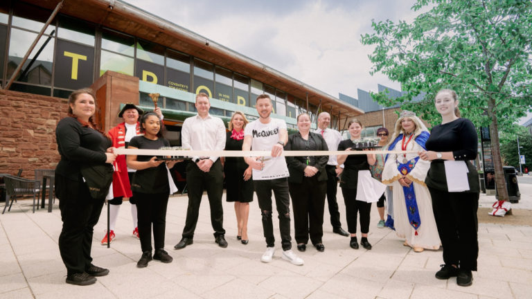 Ground-breaking new restaurant opens in Coventry
