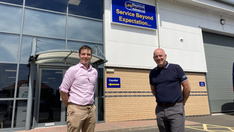 Electrical wholesaler opens new premises in Leigh