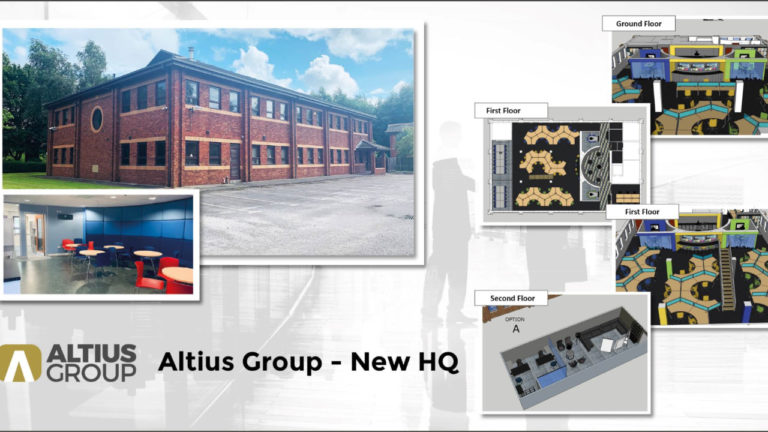 Stunning New HQ For Altius Group