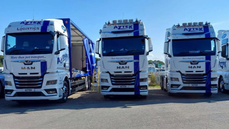 Hertfordshire's Aztek Logistics continues investment in 40-strong vehicle fleet