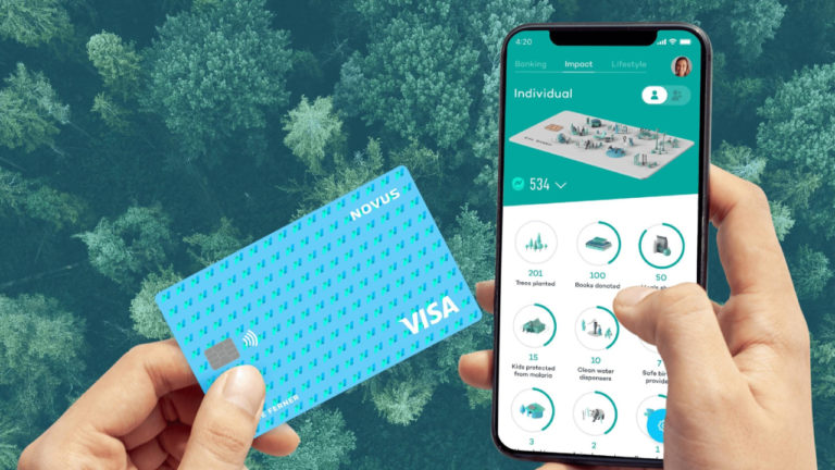 Novus teams up with Railsbank and Visa to launch a new impact-driven digital banking app