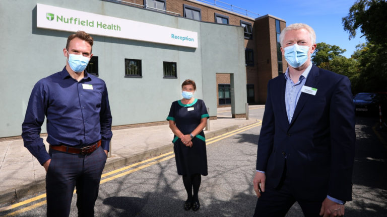 Nuffield Health Hospital in Newcastle strengthens its management team