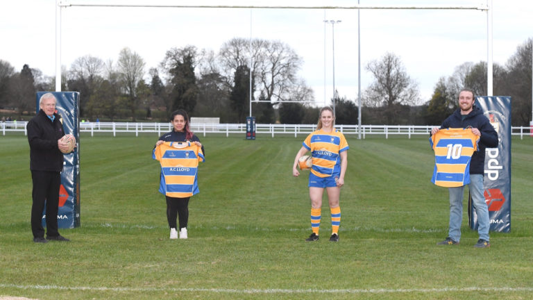 Leamington rugby club kitted out for new season thanks to local business