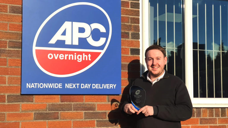 EDS Stoke, records 40% growth and awarded Best Courier Delivery Service in UK Transport Awards.